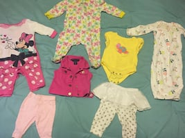 Infant girl clothing