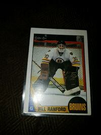 Bill rantford opc rookie card