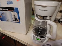 BLACK AND DECKER DRIP COFFEE MAKER 12 CUP NEW - $10 (MONROVIA, MD 21770) Monrovia