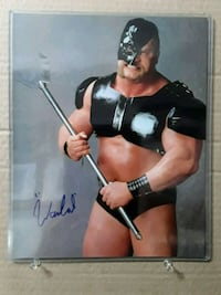 Wwe The Warlord signed photo Edmonton