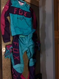 blue and red Fox racing pants Alexandria, 22308