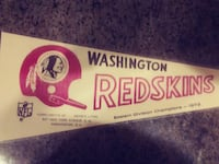 1972 Redskins pennant PURCELLVILLE