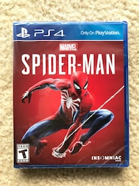 Spider-man PS4 new (wrapped) Germantown, 20874