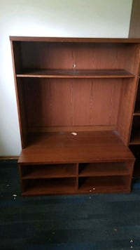 brown wooden 3-layer shelf Calgary, T2M