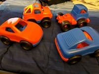 4 Toy cars for 1