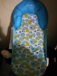 summer frog print baby's seat