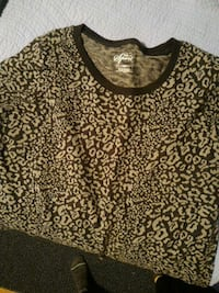 Patterned 3/4 sleeve M Toronto, M9A