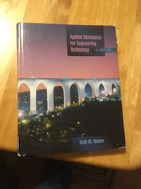Applied Mechanics for Engineering Technology (7th Edition)  Waterloo