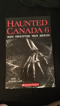 Haunted Canada 6 book
