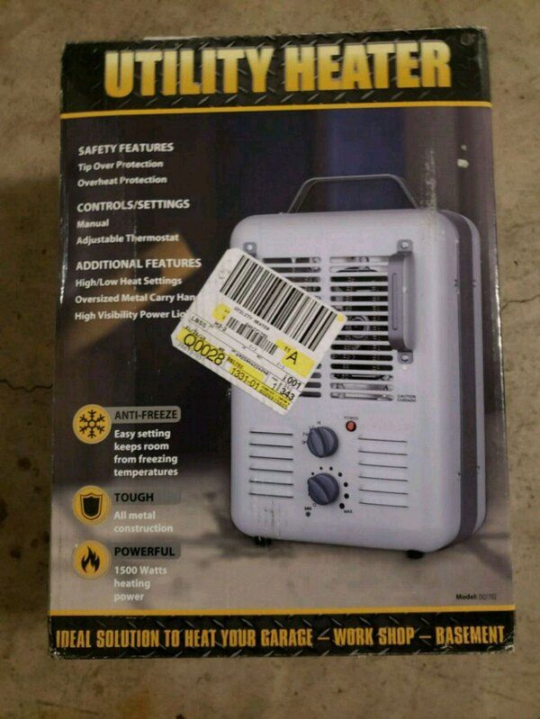 white and black Honeywell portable air conditioner box