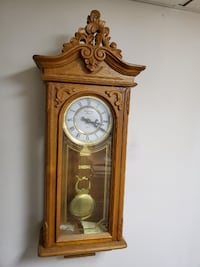 Wall hung clock