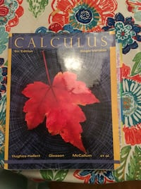 Calculus Single Variable 6th Edition College Textbook Wilmington, 19808