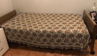 brown and white floral sofa Toronto, M6K 2A9