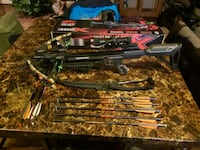 Brand new KI Crossbow Kit with lots of extras