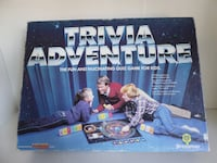 Vintage 1983 Trivia Adventure –The fun and fascinating Quiz Game for kids Oakdale