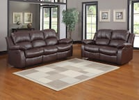 brown leather recliner sofa Orlando, 32827
