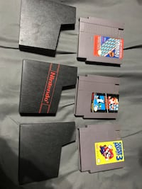 3 Nintendo NES games with sleeves  New Lenox, 60451