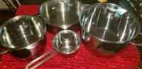 stainless steel cooking pot set North Brunswick Township, 08902