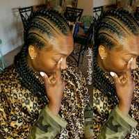 Hair styling, cornrows, crochet locs, weaves Silver Spring, 20910