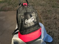 Coca cola mesh backpack with cooler Charlotte