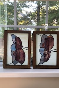 Stained glass (2) panels
