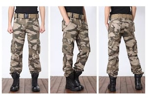 US army Men's Cotton Cargo Pants