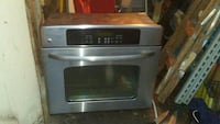 Oven very nice and clean