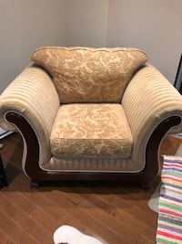 European style 1 1/2 seater couch