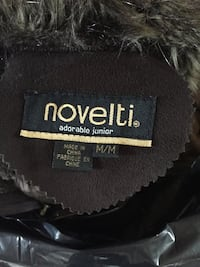 Black and brown fur-lined zip-up jacket Richmond Hill, L4E 4X2