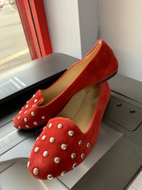 Ladies red ballerina shoes size 4, 5, 6, 7 available new Birmingham, B20
