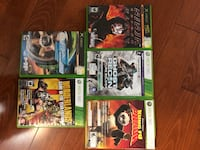 assorted Xbox 360 game cases Mississauga, L5V 1W3