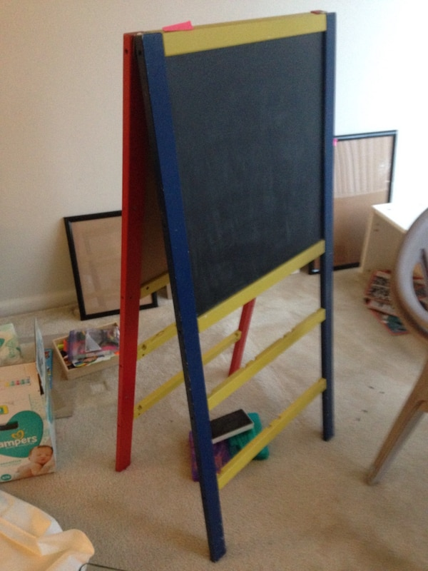 Chalk and white board
