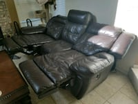 Leather Recliners and 3 seat couch Aurora, 80013