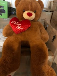brown and red bear plush toy Woodbridge, 22193