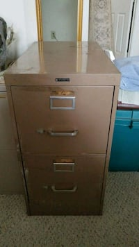 2 drawer steel file cabinet