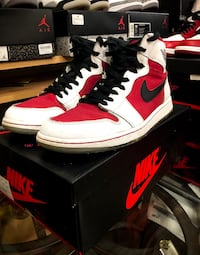 Air Jordan 1 Carmine size 10.5 7/10 condition Surrey, V4N 5W3