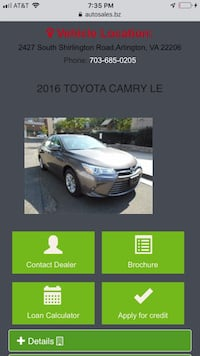 Toyota - Camry - 2016 Centreville
