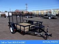 2020 CarryOn 5.5 X 8 Utility Trailer, Wood Floor, Pipe Top