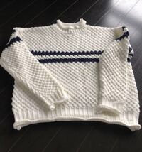 Knit Sweater (White and Blue) Toronto, M2J 5A7