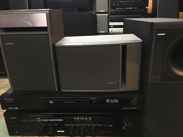 TEAC ONKYO MUSIC SYSTEM FEATURING HIGH QUALITY BOSE SATELLITE SPEAKERS AND  MATCHING BOSE SUBWOOFER!! $125 THIS WEEKEND ONLY THROUGH SUNDAY NIGHT @