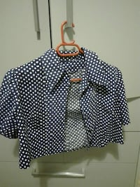 Vintage cropped shirt Αθήνα