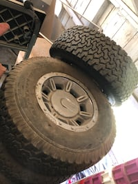 Hummer H2 tires and rims