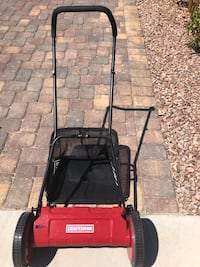 New Craftsman push mower and Power smart electric weed trimmer- Henderson, 89011