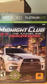 Midnight Club Los Angeles Complete Edition XBOX 360 game Oakton, 22124