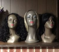 Wig with mannequin-3 Baltimore, 21217