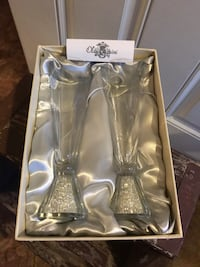 Oleg Cassini Crystal Champagne Flutes Hagerstown, 21742