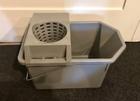 [USED] Rubbermaid Gray Cleaning Mop Bucket with Wringer Washington, 20002