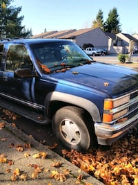 Parting out a 1999 Chevy Suburban