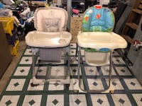 1 nice 3 in 1 high chair and a baby bath Frederick, 21702
