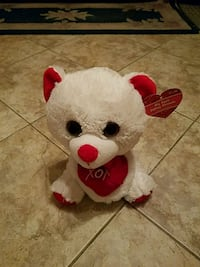 Valentine plush bear new with tag Toms River, 08753